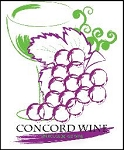 CONCORD WINE LABELS 30/PACK