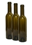 375mL ANTIQUE GREEN SEMI-BORD. MID-PUNT BOTTLES 12/CASE