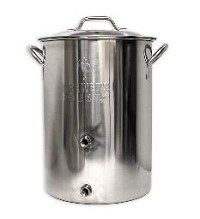 8 GALLON BREWER'S BEST BASIC BREWING KETTLE W/ TWO PORTS