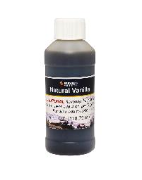 NATURAL VANILLA FLAVORING EXTRACT 4 OZ