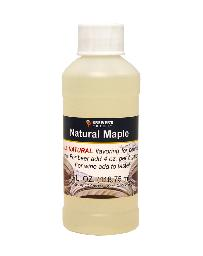 NATURAL MAPLE FLAVORING EXTRACT 4 OZ