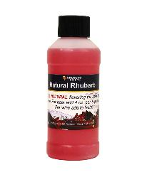 NATURAL RHUBARB FLAVORING EXTRACT 4 OZ