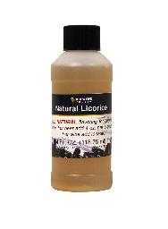 NATURAL LICORICE FLAVORING EXTRACT 4 OZ