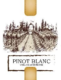 Pinot Blanc Labels