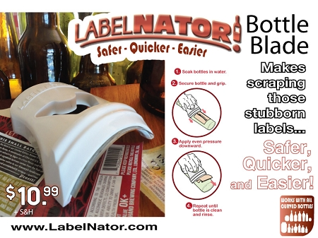 LabelNator Bottle Blade