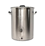 8 GALLON BREWER'S BEAST BREWING KETTLE W/ TWO PORTS