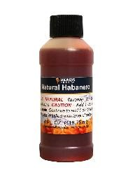 NATURAL HABANERO FLAVORING EXTRACT 4 OZ