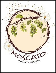 MOSCATO WINE LABELS 30/PACK